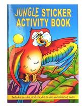 Jungle Mini Sticker Activity Book
