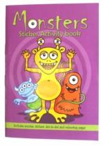 Monsters Mini Sticker Activity Book