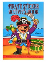 Pirate Mini Sticker Activity Book