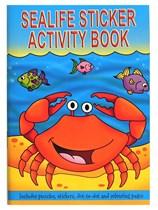 Sealife Mini Sticker Activity Book