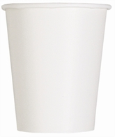 Value Pack Bright White 9oz Paper Cups 14pk