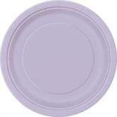 "Lavender 7"" Round Paper Plates 8pk"