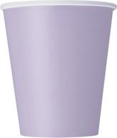 Lavender 9oz Paper Cups 8pk