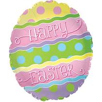 "Happy Easter Pastel Easter Egg 20"" Foil Balloon"