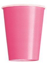 Value Pack Hot Pink 9oz Paper Cups 14pk