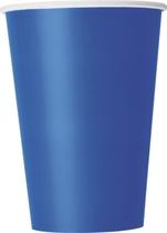 Royal Blue 12oz Large Paper Cups 10pk