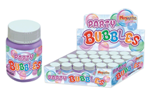 Purple and Blue 25ml Bubble Tubs 24pk