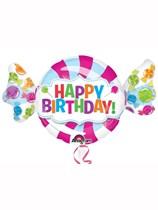"Happy Birthday Sweet 40"" Supershape Balloon"