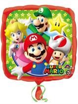 """Super Mario Bros 18"""" Foil Balloon"""