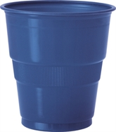 Navy Blue 9oz Plastic Cups 12pk