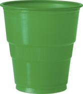Emerald Green 9oz Plastic Cups 12pk