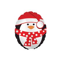 "Christmas Penguin 9"" Mini Shape Foil Balloon"