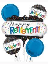 Happy Retirement Foil Balloon Bouquet