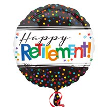 Happy Retirement Party Decoration 18 Inch Foil Balloon