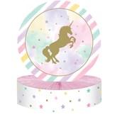 Unicorn Sparkle Honeycomb Centrepiece Decoration