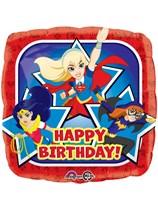 "DC Superhero Girls Happy Birthday 18"" Foil Balloon"
