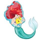 "Little Mermaid SuperShape 34"" XL Foil Balloon"