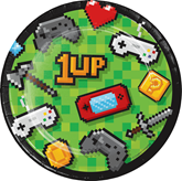 Gaming Party 19cm Paper Plates 8pk