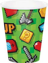 Gaming Party 9oz Paper Cup 8pk