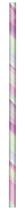 Pastel Iridescent Paper Straws 24pk