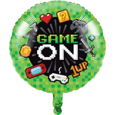 """Gaming Party 18"""" Foil Balloon"""