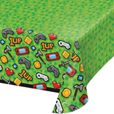 Gaming Party Plastic Tablecover