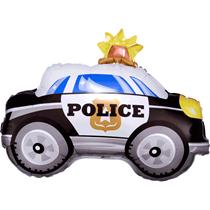 "Police Car 18"" Shaped Foil Balloon"