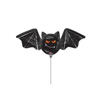 Halloween Bat Foil Mini Shape Balloon