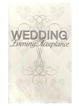 Wedding Evening Acceptance Cards 24pk