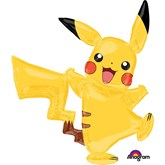 "Pokémon Pikachu Airwalker 57"" Foil Balloons"
