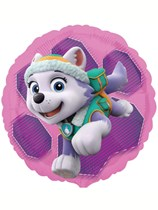 """Pink Paw Patrol 18"""" Double-Sided Foil Balloon"""