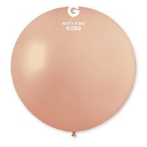 "Gemar Standard Misty Rose 31"" (2.5ft) Latex Balloon 1pk"