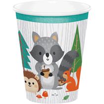 Woodland Animals Paper Cups 8pk