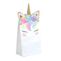 Unicorn Baby Paper Treat Bags 8pk