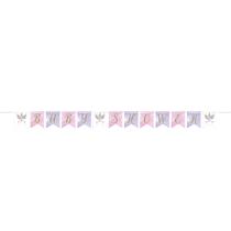 Baby Unicorn Baby Shower Ribbon Banner 2.1M