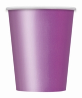 Value Pack Pretty Purple 9oz Paper Cups 14pk
