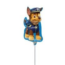 Paw Patrol Chase Mini Shape Foil Balloon (air fill)