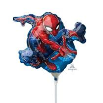 Spider-Man Mini Shape Foil Balloon (air fill)
