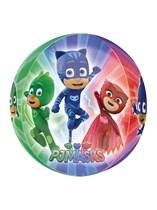 PJ Masks Clear Orbz Foil Balloon