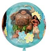 "Disney Moana Clear Orbz 16"" Foil Balloon"