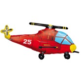 """Helicopter Supershape Foil Balloon 36"""""""