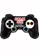 """Game Controller 36"""" Birthday Foil Balloon"""