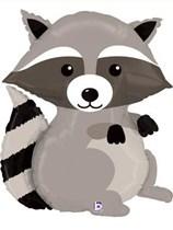 "Woodland Critters Raccoon 36"" Supershape Foil Balloon"