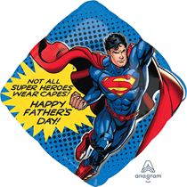 Father's Day Superman SuperShape Foil Balloon