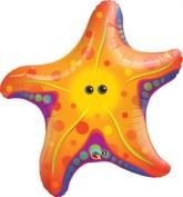 """Starfish 30"""" Supershape Foil Balloon"""
