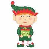 "Christmas Elf 43"" Foil Balloon"
