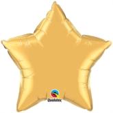 "Metallic Gold 36"" Star Foil Balloon"