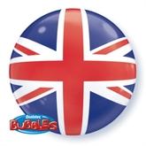 "Union Jack 22"" Bubble Balloon"