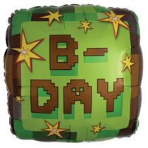 "TNT Happy B-Day 18"" Foil Balloon"