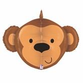 """Monkey 27"""" Multi Sided Foil Balloon"""